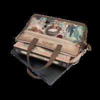thumb-Braune Multi Tasche *Ixchel Collection*-10