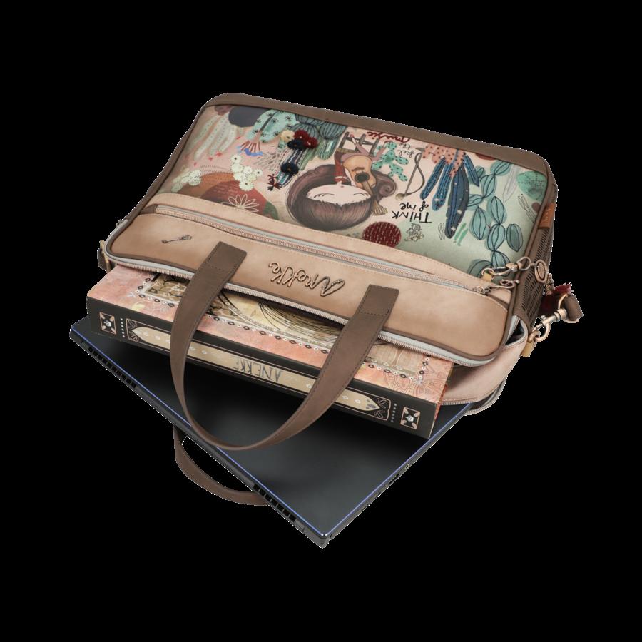 Braune Multi Tasche *Ixchel Collection*-10