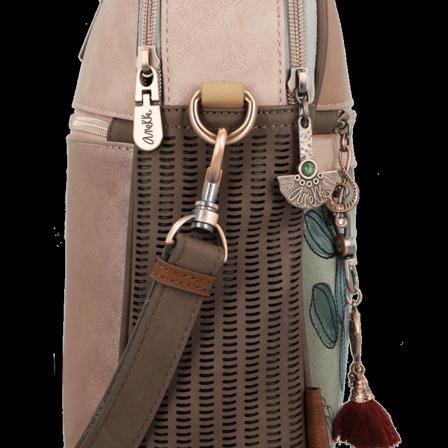 Braune Multi Tasche *Ixchel Collection*-5
