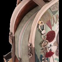 thumb-Beige Rucksack *Ixchel Collection*-8