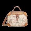 Anekke  Love to share  Braun/Multifarben Multi Tasche *Kenya Collection*