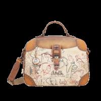 thumb-Braun/Multifarben Multi Tasche *Kenya Collection*-1