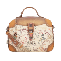 thumb-Braun/Multifarben Multi Tasche *Kenya Collection*-2