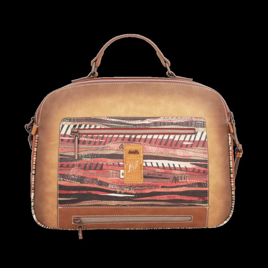 Braun/Multifarben Multi Tasche *Kenya Collection*-5