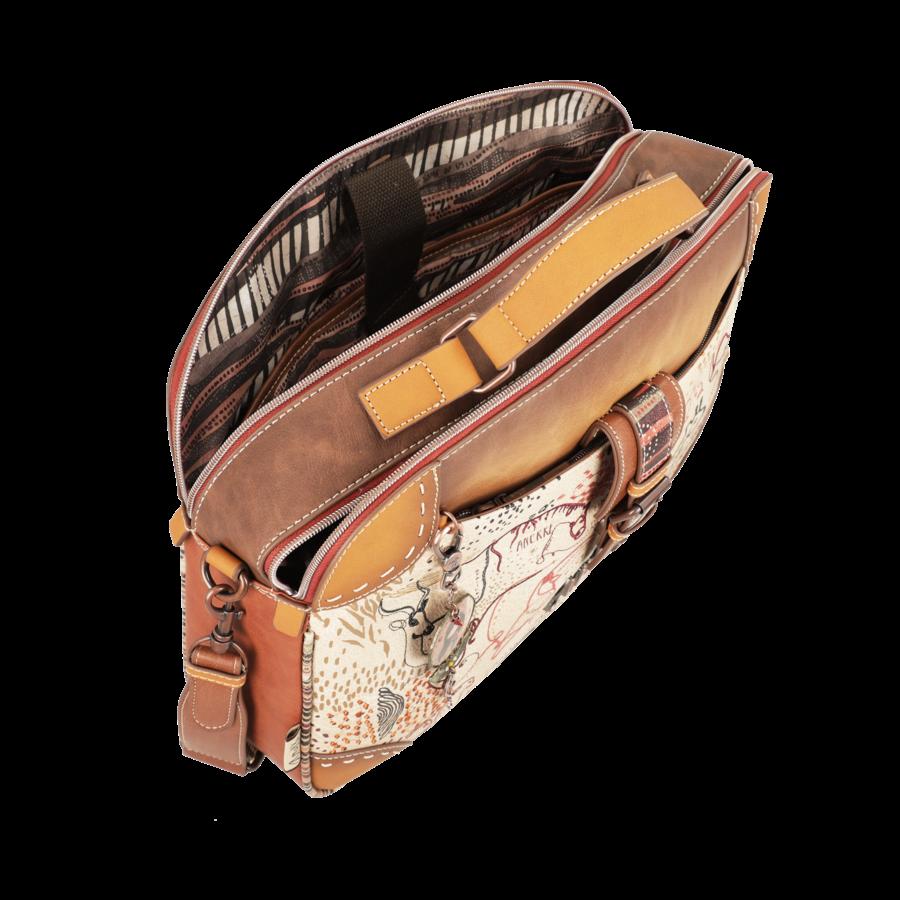 Braun/Multifarben Multi Tasche *Kenya Collection*-8