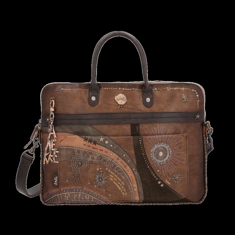 Braune  Multi Tasche *Nature Edition*-3