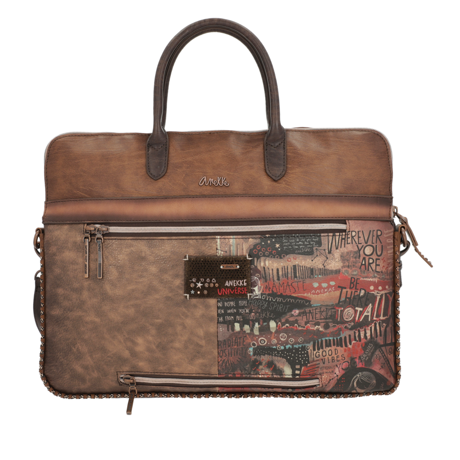 Braune  Multi Tasche *Nature Edition*-5