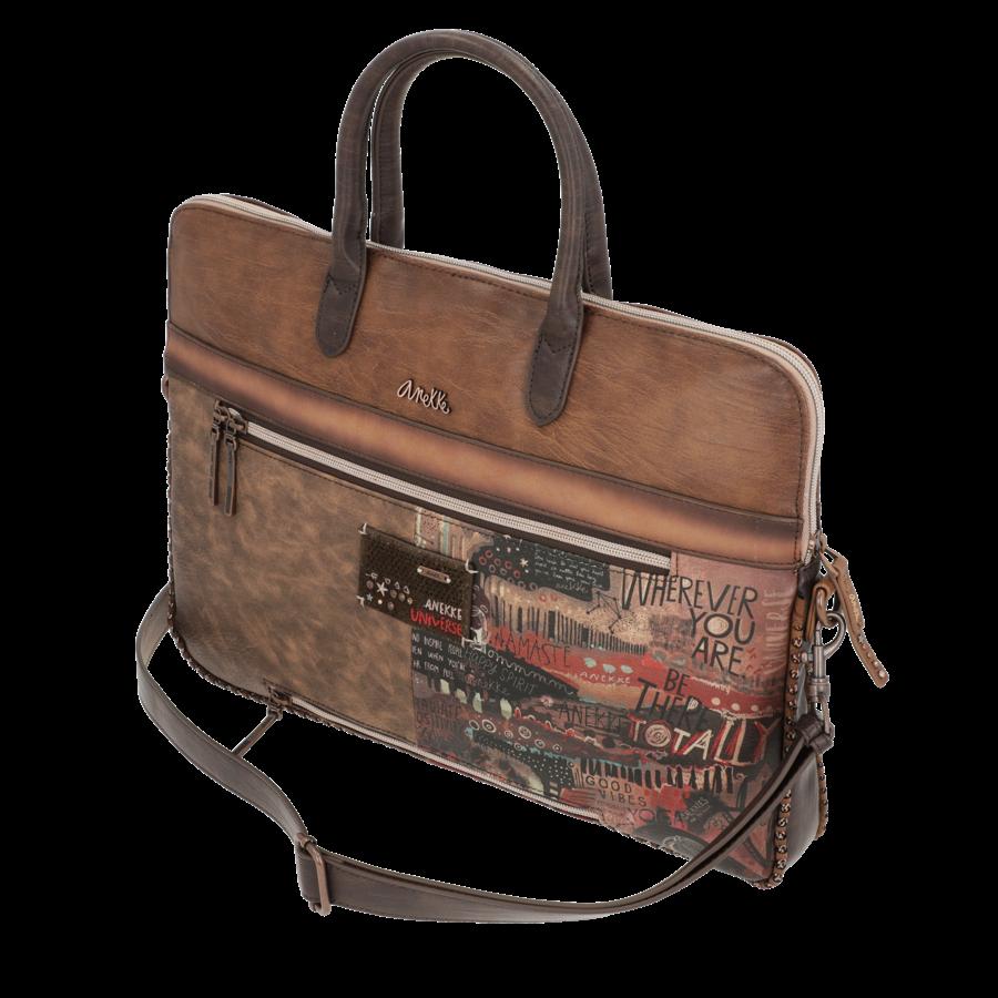 Braune  Multi Tasche *Nature Edition*-4
