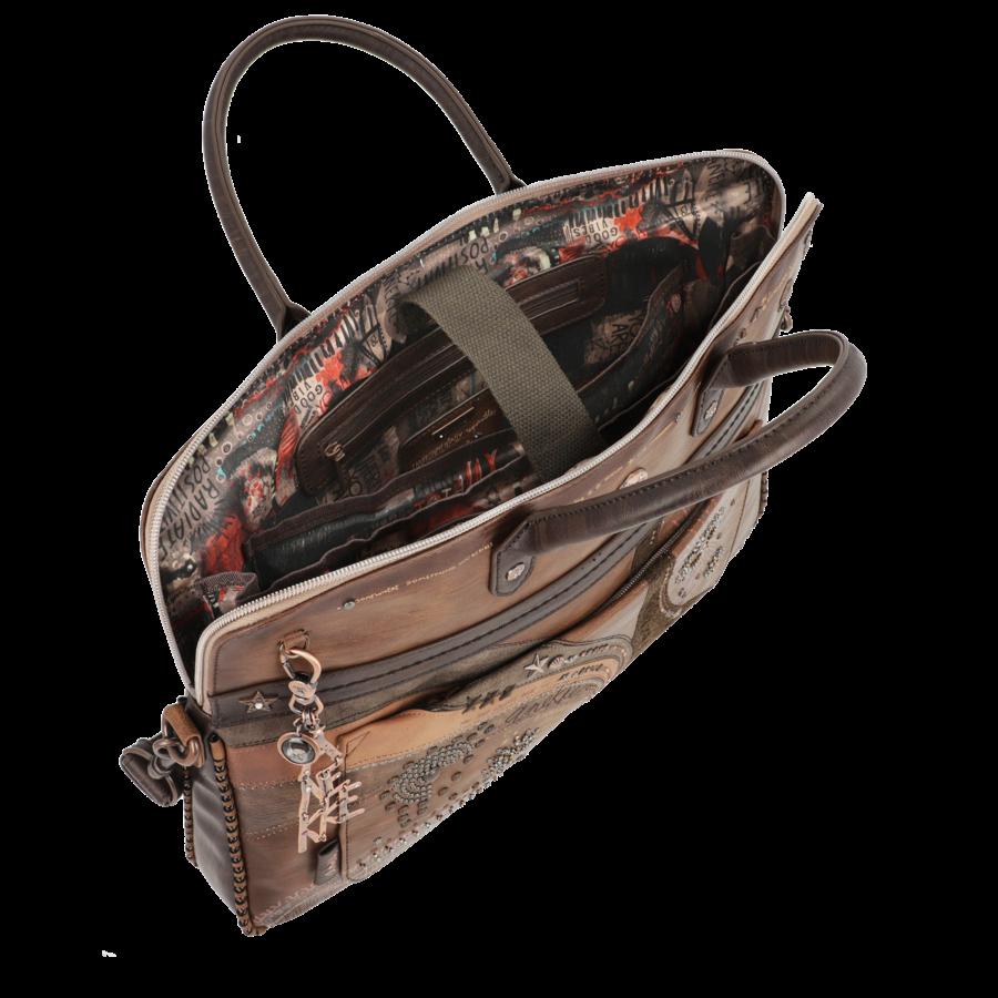 Braune  Multi Tasche *Nature Edition*-6