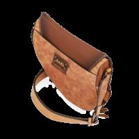 thumb-Braune Sattel Umhängetasche *Arizona Collection*-7