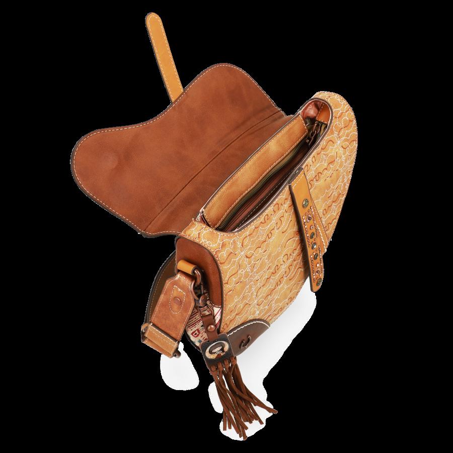 Braune Sattel Umhängetasche *Arizona Collection*-8