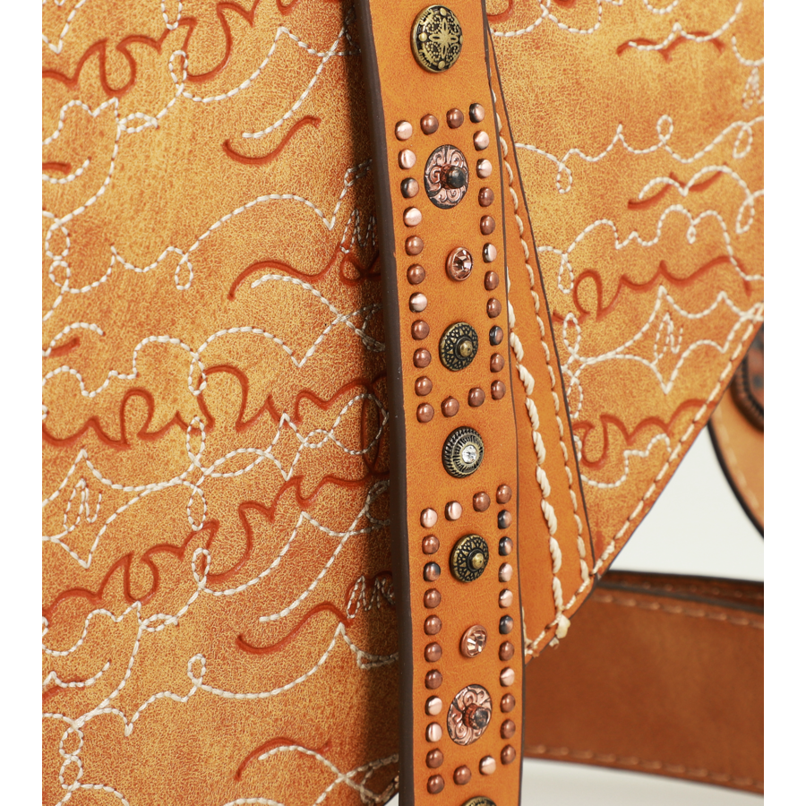 Braune Sattel Umhängetasche *Arizona Collection*-9