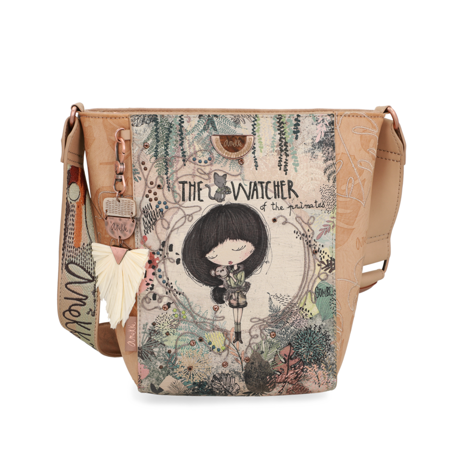 Schultertasche *Jungle Collection*-1