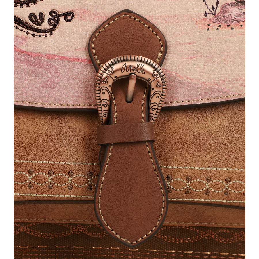 Brauner Rucksack  *Arizona Collection*-8