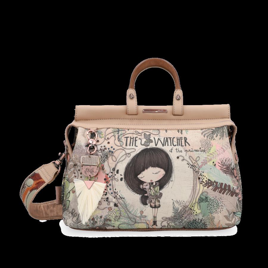 Beige Handtasche *Jungle Collection*-2