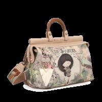 thumb-Beige Handtasche *Jungle Collection*-1