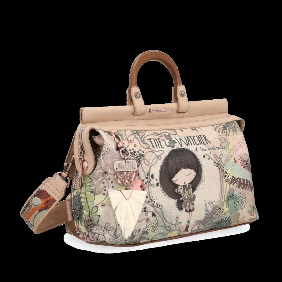 Beige Handtasche *Jungle Collection*-1
