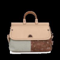 thumb-Beige Handtasche *Jungle Collection*-4