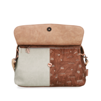 thumb-Beige Handtasche *Jungle Collection*-5