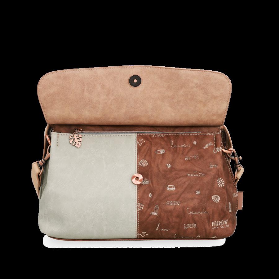 Beige Handtasche *Jungle Collection*-5
