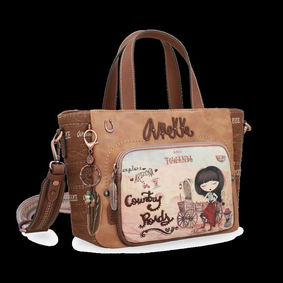 Braune Handtasche *Arizona Collection*-3