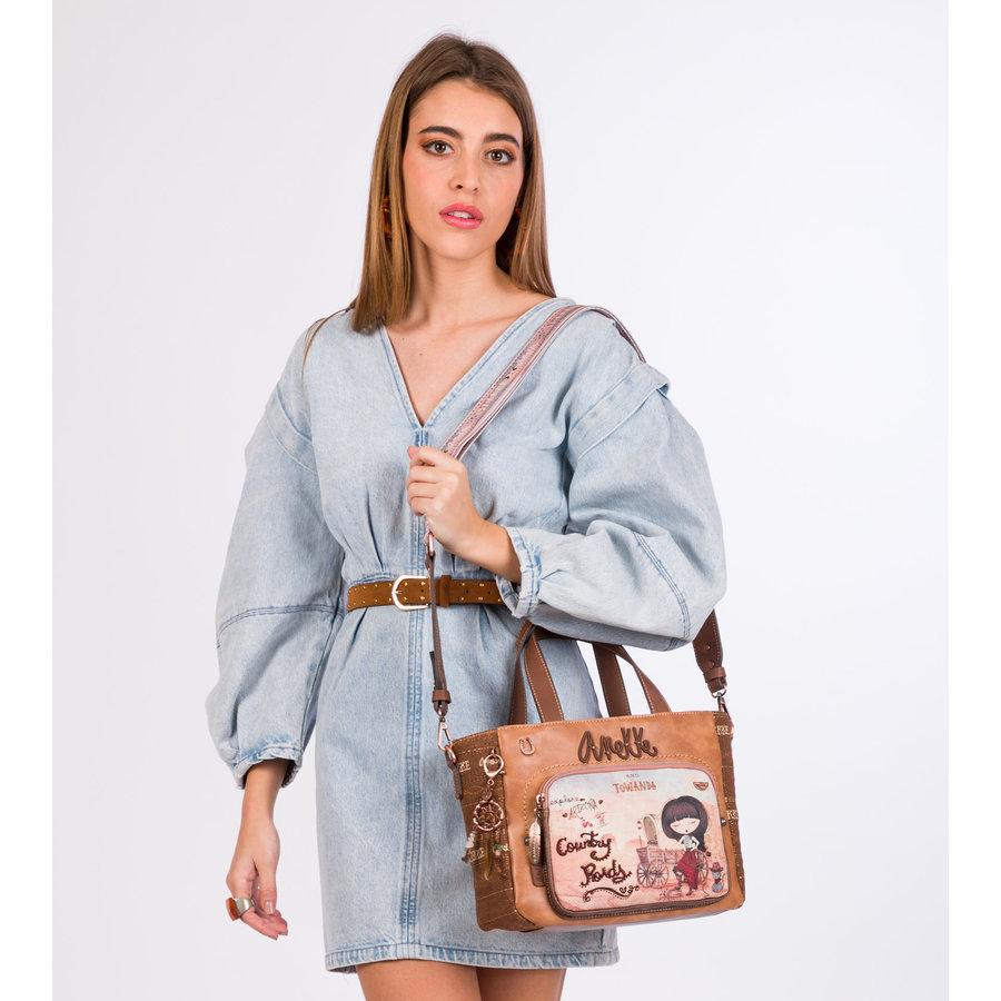 Braune Handtasche *Arizona Collection*-1