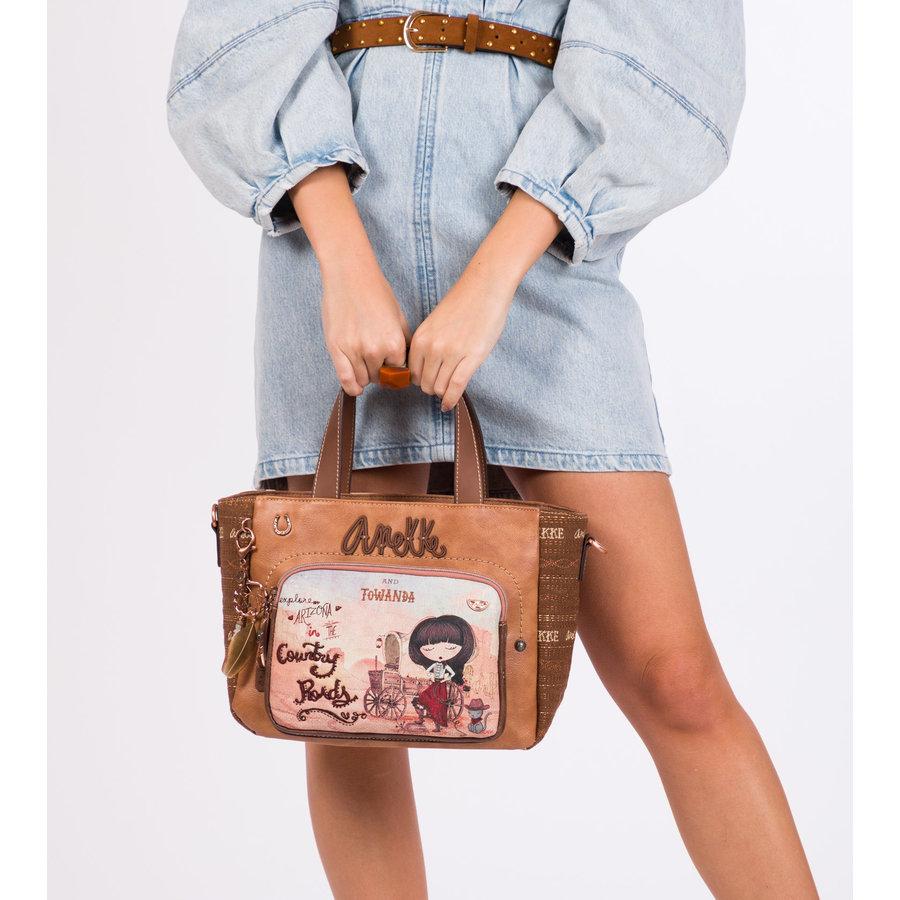Braune Handtasche *Arizona Collection*-10