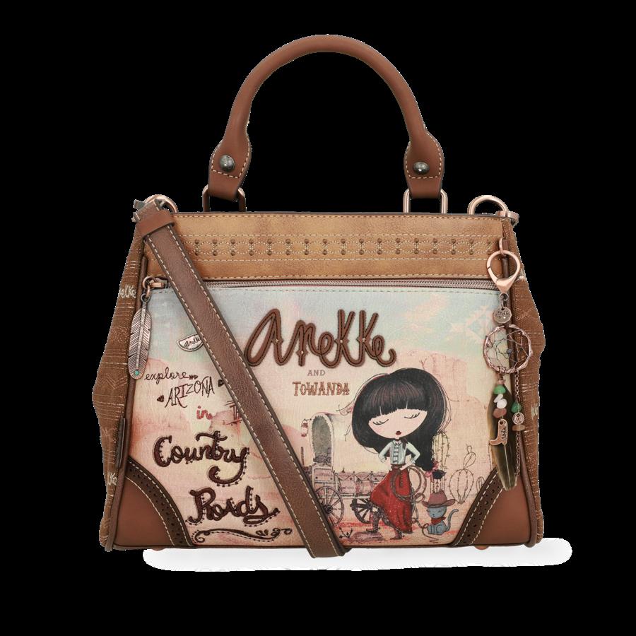 Braune Handtasche  *Arizona Collection*-4