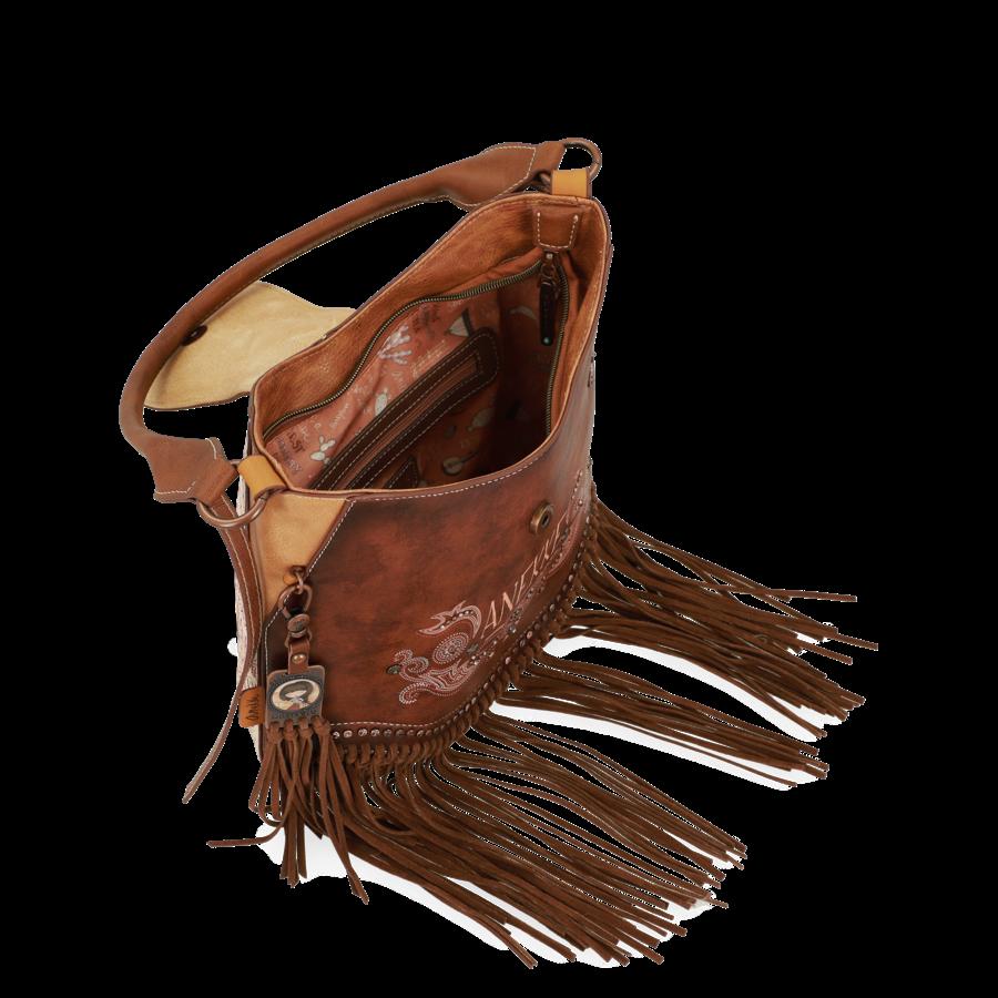 Braune Umhängetasche *Arizona Collection*-6