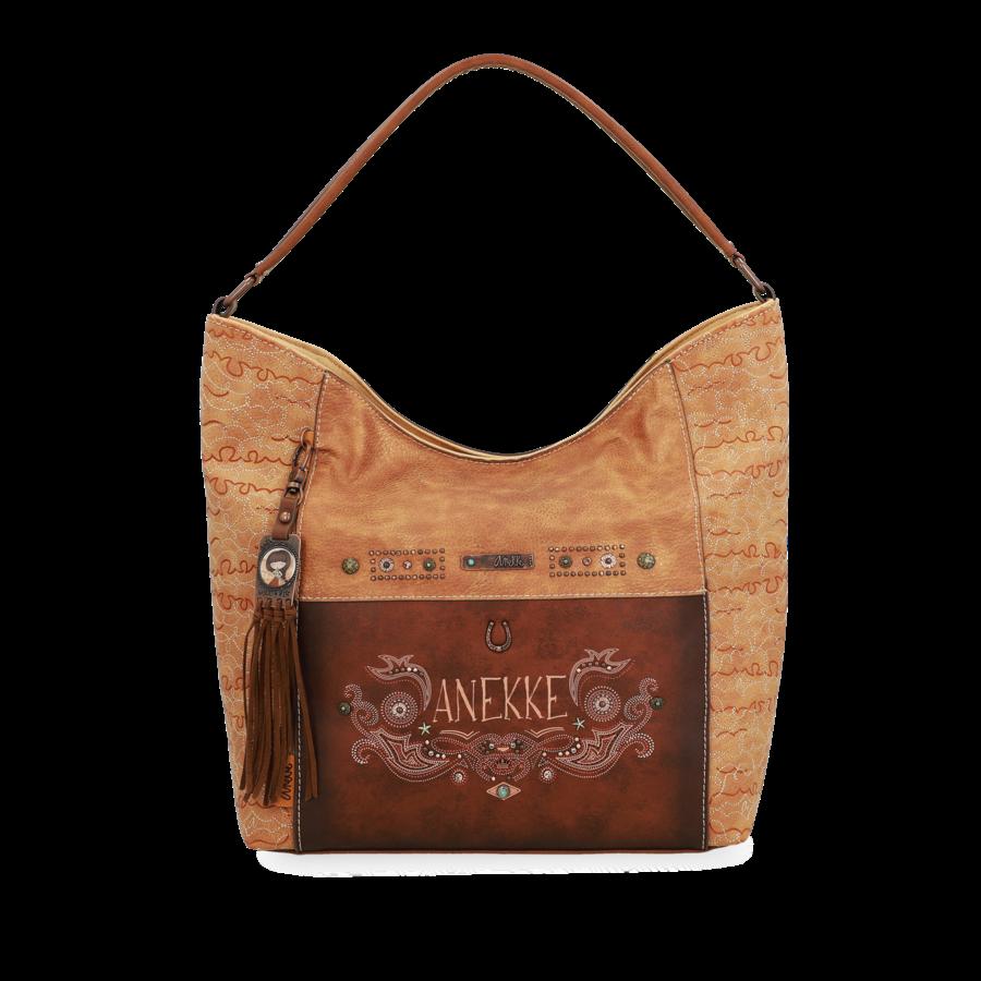 Braun/Beige Shopper *Arizona Collection*-2