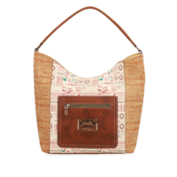 thumb-Braun/Beige Shopper *Arizona Collection*-5