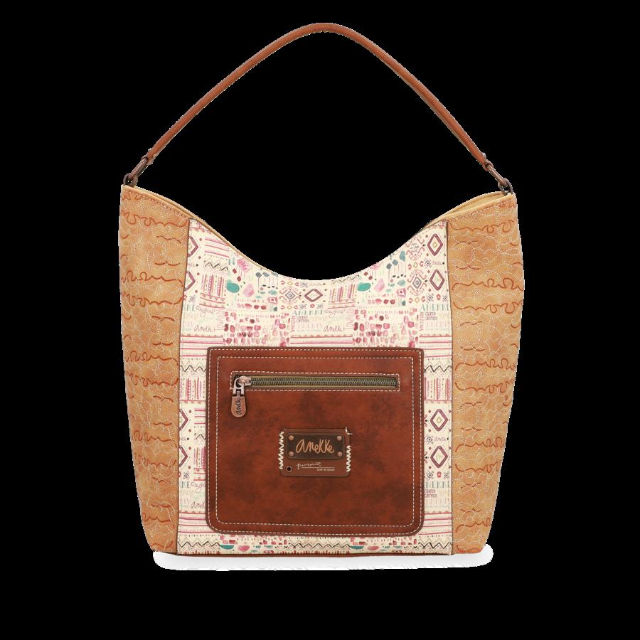 Braun/Beige Shopper *Arizona Collection*-5