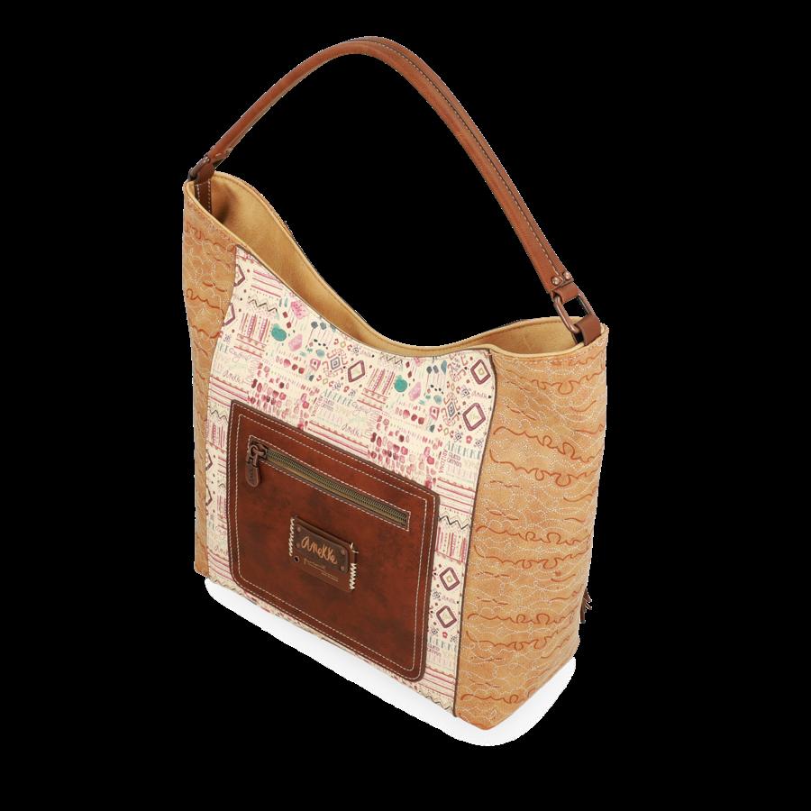 Braun/Beige Shopper *Arizona Collection*-6