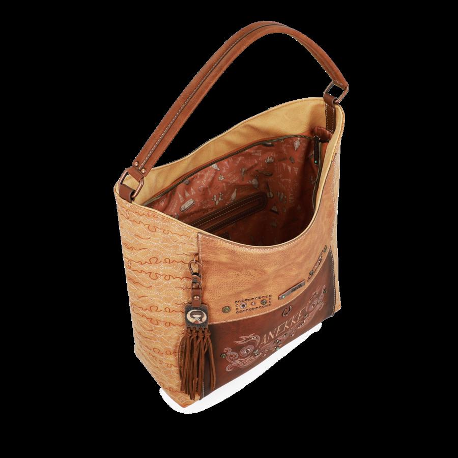 Braun/Beige Shopper *Arizona Collection*-4