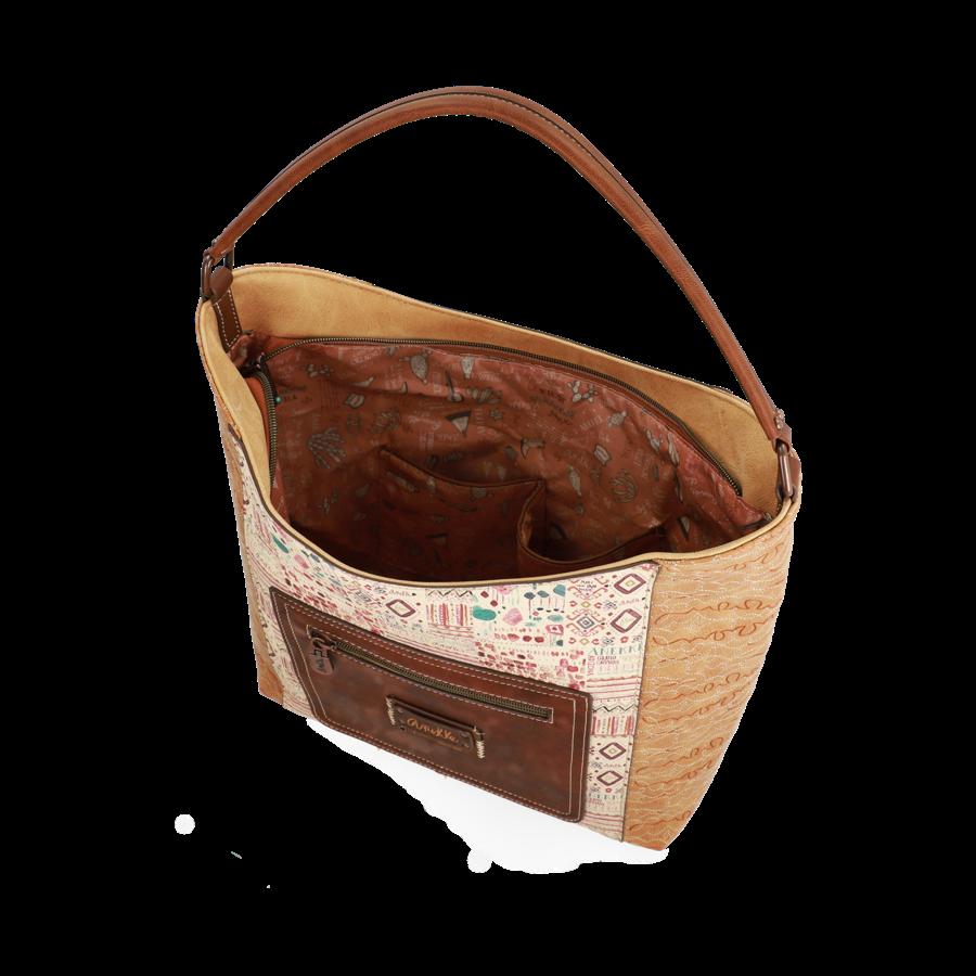 Braun/Beige Shopper *Arizona Collection*-7