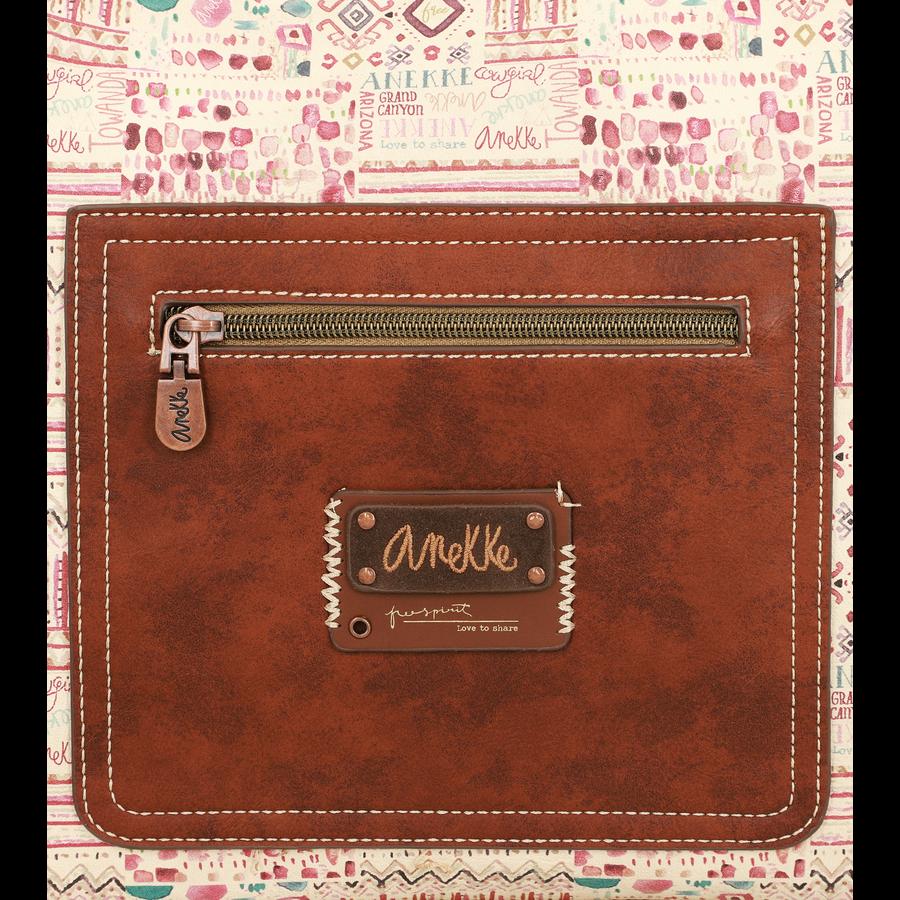 Braun/Beige Shopper *Arizona Collection*-8
