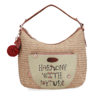 thumb-Beige Shopper *Jungle Collection*-1