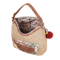 thumb-Beige Shopper *Jungle Collection*-6