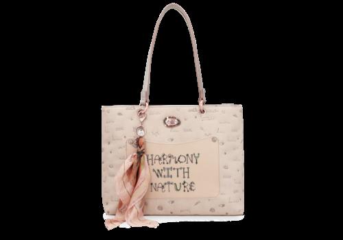 Anekke  Love to share Beige Handtasche *Jungle*