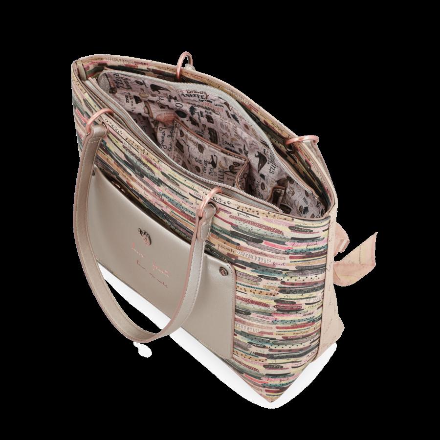 Beige Handtasche *Jungle Collection*-9
