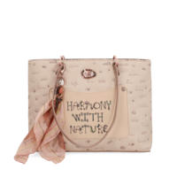 thumb-Beige Handtasche *Jungle Collection*-3