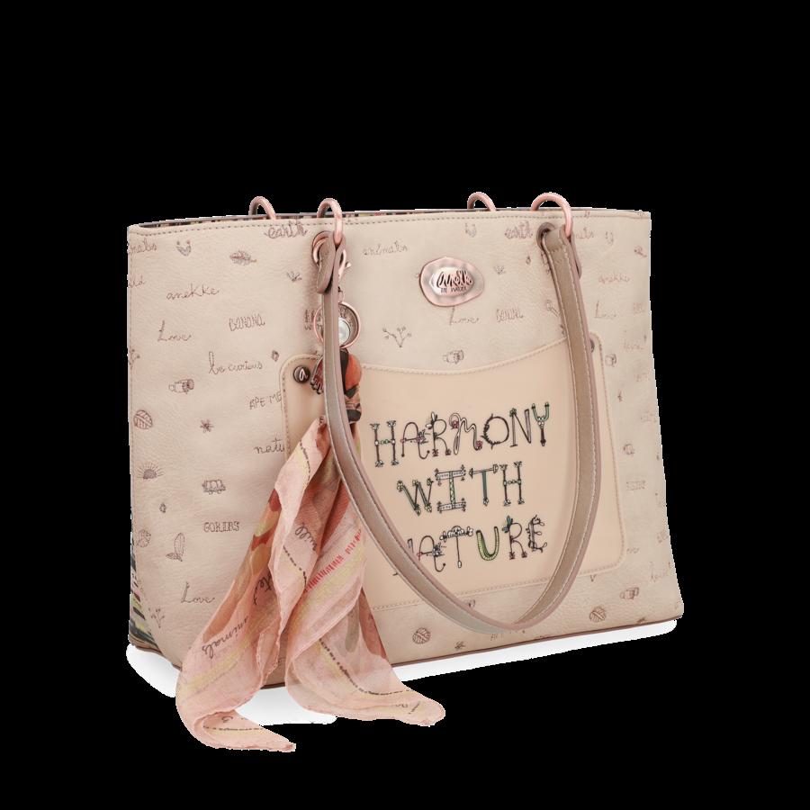 Beige Handtasche *Jungle Collection*-4
