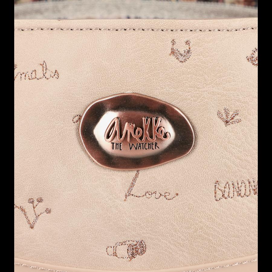 Beige Handtasche *Jungle Collection*-10