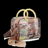 thumb-Beige Handtasche  *Jungle Collection*-2