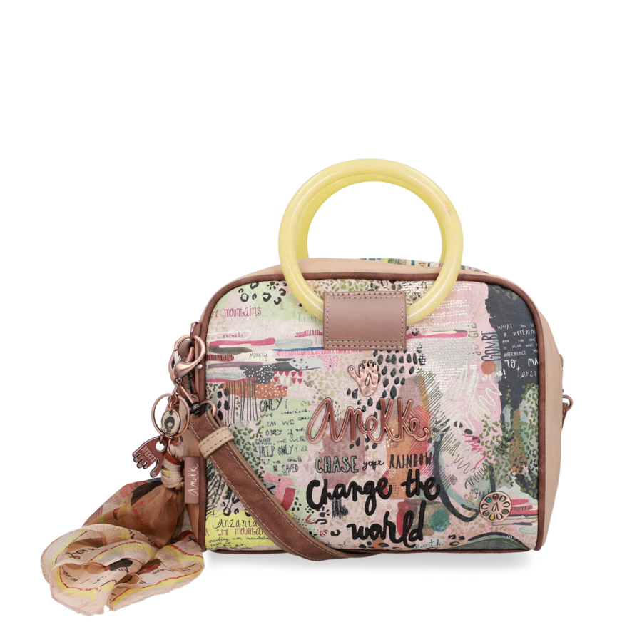 Beige Handtasche  *Jungle Collection*-3