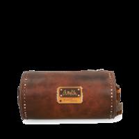 thumb-Braune Zylinder Umhängetasche *Arizona Collection*-8