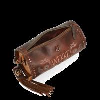 thumb-Braune Zylinder Umhängetasche *Arizona Collection*-5
