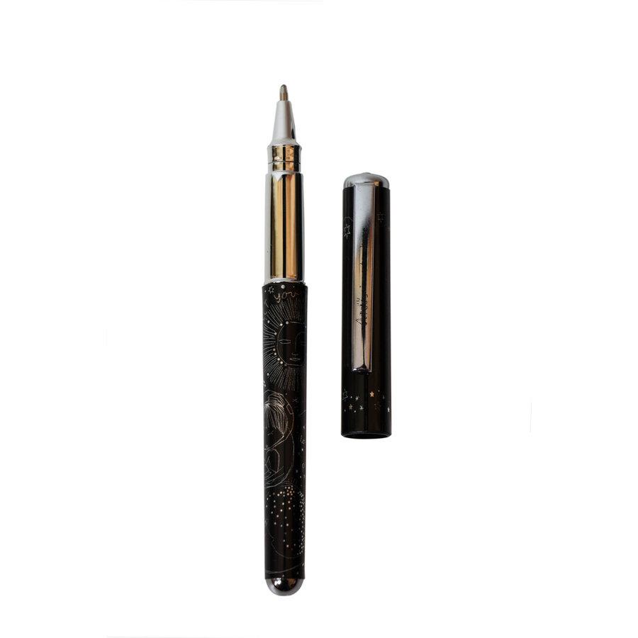 Schwarz/Multifarben/Rosé Kugelschreiber/Bleistift Set-6