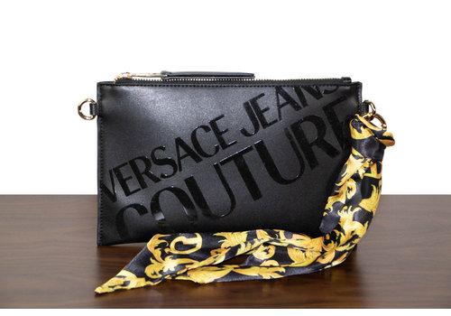 Versace Jeans Schwarze Kunstleder Clutches