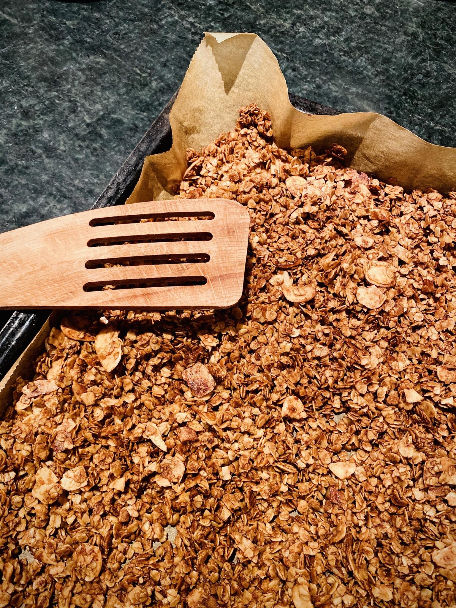 Granola mit Maca Cacao Pulver
